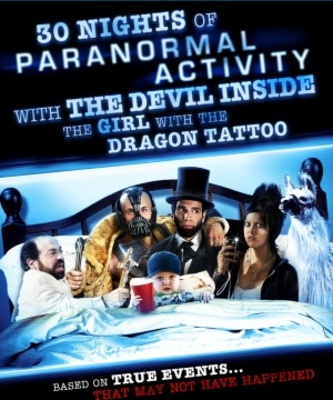 30 Nights of Paranormal Activity with the Devil Inside the Girl with the Dragon Tattoo poster #791415