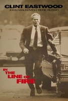 In The Line Of Fire movie poster